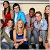 Greek : foto Amber Stevens, Clark Duke, Dilshad Vadsaria, Jacob Zachar, Jake McDorman