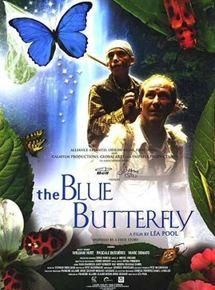 La mariposa azul