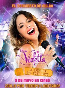 Violetta. La emoción del concierto