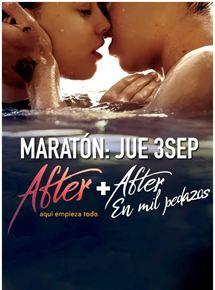 Maratón: After. Aquí empieza todo - After. En mil pedazos
