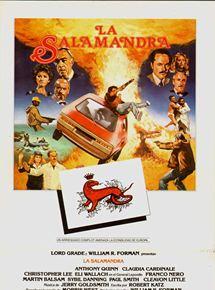 La salamandra roja