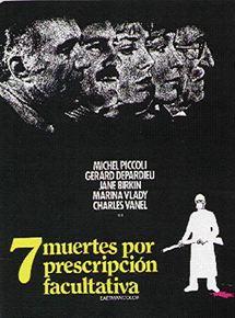 Siete muertes por prescripción facultativa