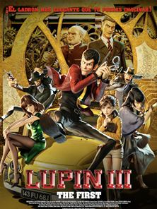 Lupin III: The First Tráiler