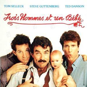 tres hombres y un beb pel cula 1987. Black Bedroom Furniture Sets. Home Design Ideas