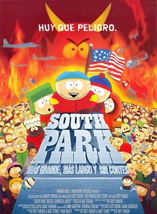 South Park - más grande, más largo y sin cortes