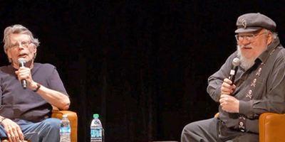 George R.R. Martin le pregunta a Stephen King cómo consigue escribir tan rápido