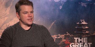 """Matt Damon: """"Hacer 'La Gran Muralla' fue una decisión familiar importante"""""""