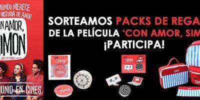 ¡SORTEAMOS PACKS DE REGALOS DE 'CON AMOR, SIMON'!