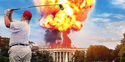 'Fahrenheit 11/9' compara a Donald Trump con Hitler en el póster en español en exclusiva
