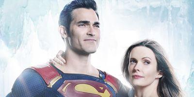 Los nuevos Superman y Lois Lane de 'Supergirl' posan en esta imagen