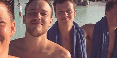 """Alex Høgh Andersen ('Vikingos'), de vacaciones en España: """"Cerveza y quemados por el sol"""""""