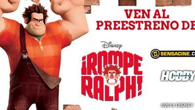 Ven al preestreno de la nueva película de Disney  ¡Rompe Ralph!