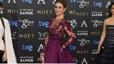 La alfombra 'fucsia' de los Premios Goya 2015