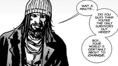 'The Walking Dead' ficha a un importante personaje del cómic