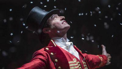 'El gran showman': Hugh Jackman se cuela en una proyección
