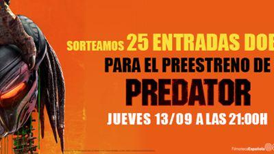 ¡TE INVITAMOS AL PREESTRENO DE 'PREDATOR' EL PRÓXIMO 13 DE SEPTIEMBRE!