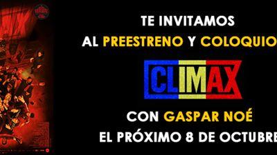 ¡SORTEAMOS ENTRADAS DOBLES PARA EL PREESTRENO + COLOQUIO DE 'CLIMAX'!