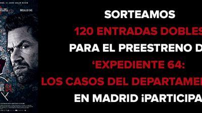 ¡Te invitamos al preestreno de 'Expediente 64: Los casos del departamento Q' en Madrid y Barcelona!
