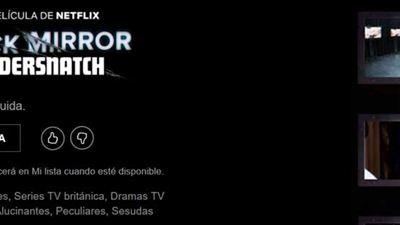 'Bandersnatch', la película interactiva de 'Black Mirror', ya aparece en Netflix