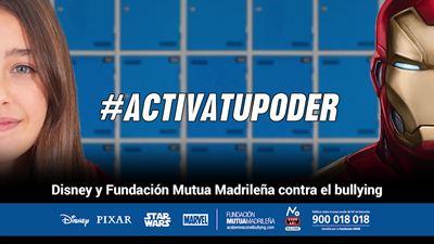 #ActivaTuPoder: Disney y la Mutua Madrileña animan a los niños a hacer frente al 'bullying' en el colegio