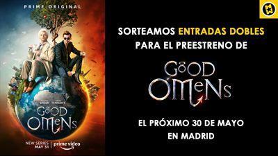 ¡SORTEAMOS ENTRADAS DOBLES PARA ASISTIR A UN EVENTO EXCLUSIVO DE 'GOOD OMENS'!