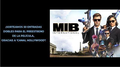 ¡SORTEAMOS 50 ENTRADAS DOBLES PARA EL PREESTRENO DE 'MEN IN BLACK: INTERNATIONAL' GRACIAS A CANAL HOLLYWOOD!