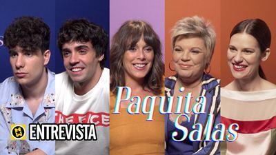 Entrevistamos al equipo de 'Paquita Salas': Así es hacer una serie entre amigos