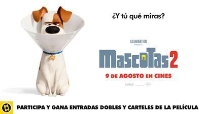 Sorteamos entradas y posters de 'Mascotas 2'