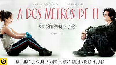 ¡SORTEAMOS 5 PÓSTERS Y 5 ENTRADAS DOBLES de 'A DOS METROS DE TI'!