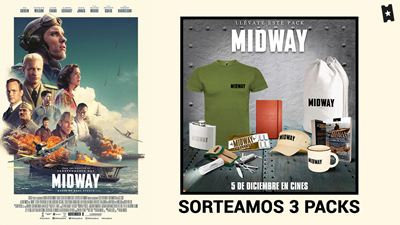 ¡SORTEAMOS PACKS DE 'MIDWAY'!
