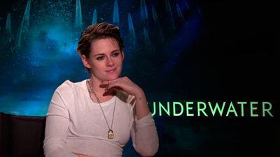 """Kristen Stewart ('Underwater'): """"Me da miedo el agua, soy claustrofóbica y esta película te pone en un lugar remoto y misterioso"""""""
