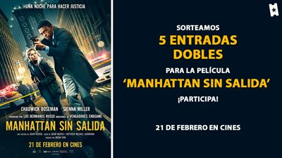 Sorteamos 5 entradas dobles para ver en cines la película 'Manhattan sin salida'