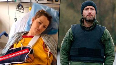 'El ritmo de la venganza': Blake Lively se rompió la mano pegándole un puñetazo a Jude Law