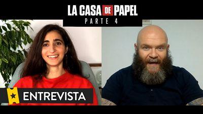 'La Casa de Papel' temporada 4: Entrevista a Alba Flores y Darko Peric