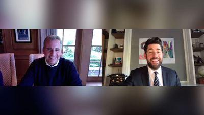 Steve Carell y John Krasinski comparten sus mejores momentos en 'The Office'