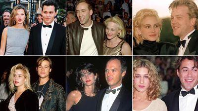 20 parejas que arrasaron en Hollywood en la década pasada y ya no recuerdas