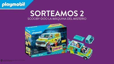 Sorteamos 2 'packs' de Playmobil 'SCOOBY-DOO La Máquina del Misterio' con las figuras de Daphne, Velma y Fred