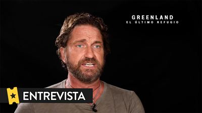 """Gerard Butler ('Greenland: El último refugio'): """"Me gustan estas películas donde hay algún tipo de crisis"""""""