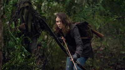 """Lauren Cohan, Maggie, augura """"un mar de lágrimas"""" en la temporada final de 'The Walking Dead'"""