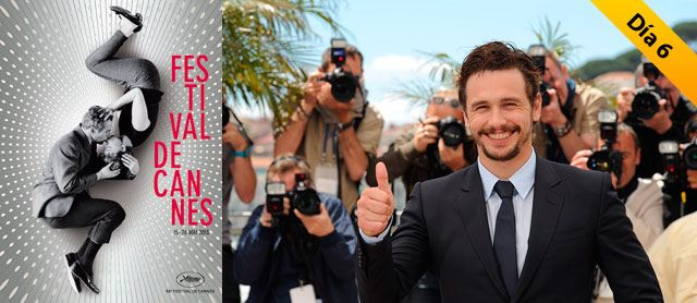James Franco sorprende en Cannes