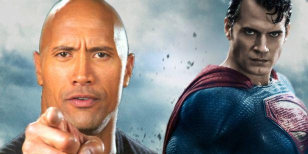 'El hombre de acero': Henry Cavill sugiere que Dwayne Johnson podría participar en la secuela