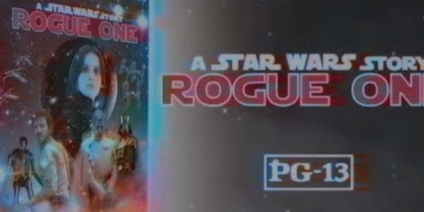 'Rogue One: Una historia Star Wars': Un fan imagina cómo habría sido el anuncio del lanzamiento del VHS
