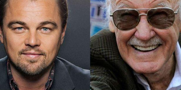 Leonardo DiCaprio estaría interesado en interpretar a Stan Lee en un 'biopic' sobre su vida