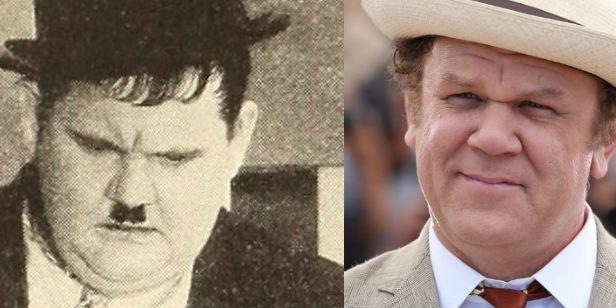John C. Rilley, irreconocible como Oliver Hardy en el biopic de 'El gordo y el flaco'