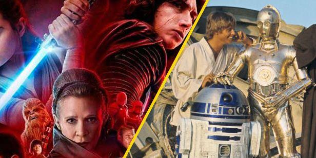'Star Wars 8: Los últimos Jedi': Un usuario de Reddit clasifica las cintas de la saga de más a menos polémicas