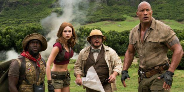 'Jumanji: Bienvenidos a la jungla' ya es la tercera película más taquillera de la historia de Sony