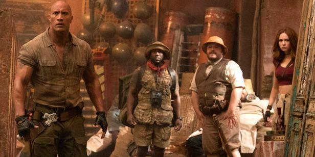 'Jumanji: Bienvenidos a la jungla' ya es la segunda película más taquillera de la historia de Sony