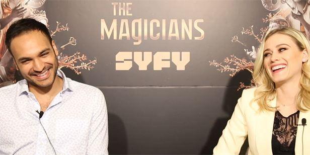 """Arjun Gupta y Olivia Taylor Dudley de 'The Magicians': """"Lo más emocionante de esta temporada 3 es que no hay solo un gran villano"""""""