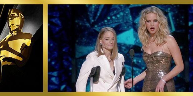 Oscar 2018: Jennifer Lawrence agradece a Jodie Foster que le diese trabajo
