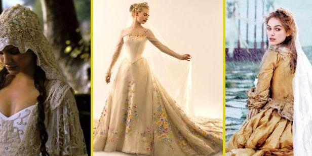 Los 35 mejores vestidos de novia del cine